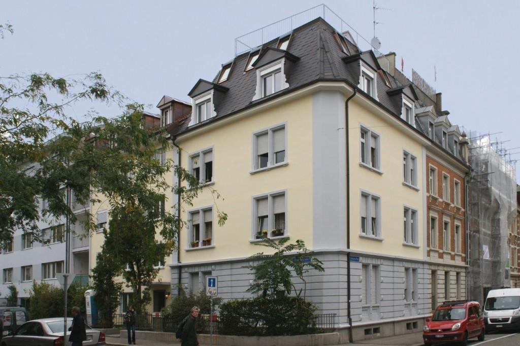 Umbau, Dachstockausbau und Renovation MFH, Basel
