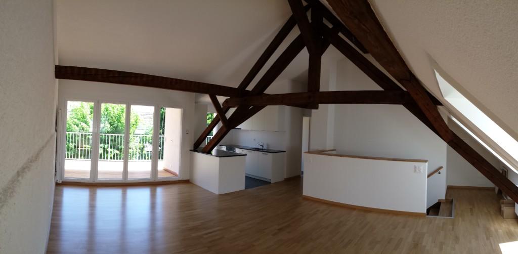 Renovation und Dachstockausbau MFH, Basel