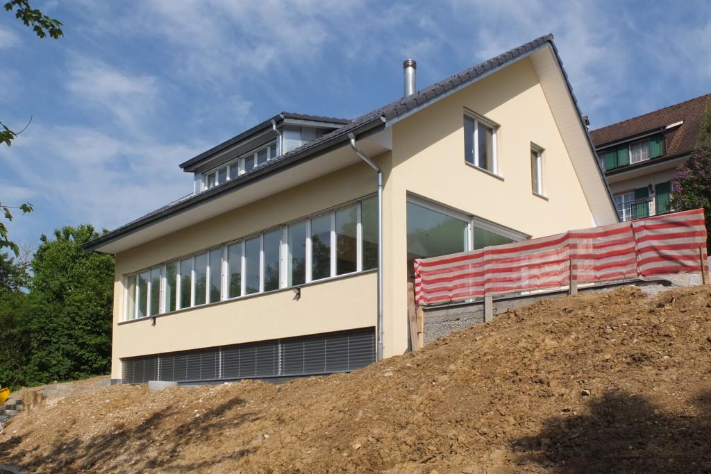 Neubau Einfamilienhaus, Pratteln