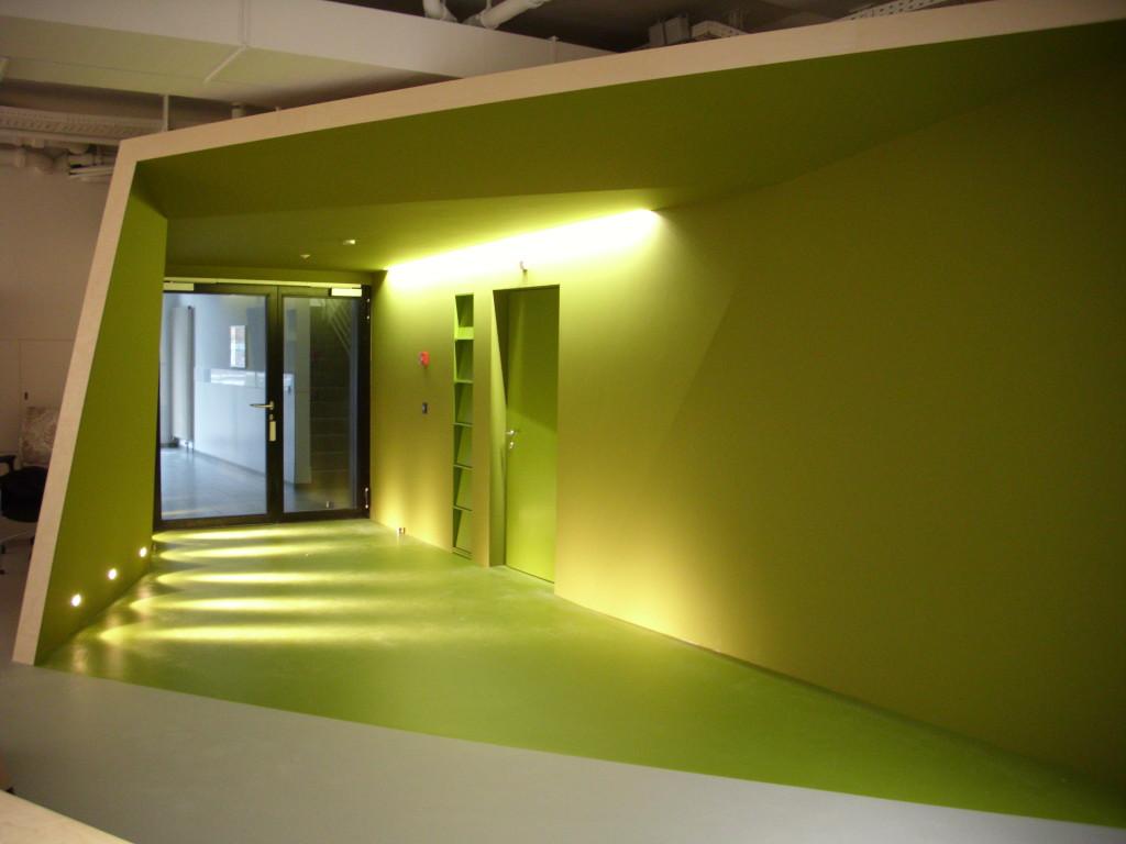 Eingangsbereich Ausstellungsraum, Basel