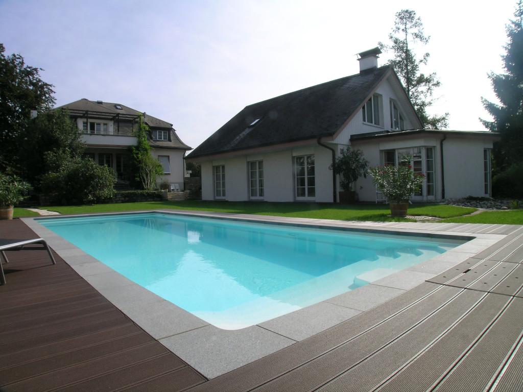 Neugestaltung Gartenanlage mit Schwimmbad
